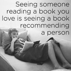 Good books recommend good people.