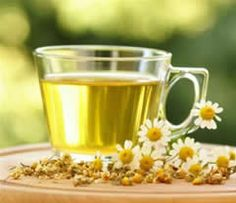 Herbs for a happy tummy--chamomile, lemon balm, fennel, cinnamon and peppermint.