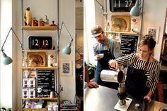 'Koppi Kaffe & Roasteri' in Helsingborg, Sweden
