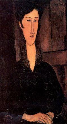 RITRATTO DI MME ZBOROWSKA by Amedeo Modigliani
