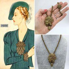 Dejting vintage Coro smycken