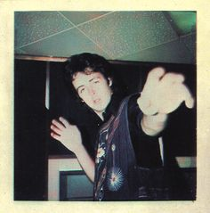 Paul McCartney, from the polaroid poster included with Band on the Run.
