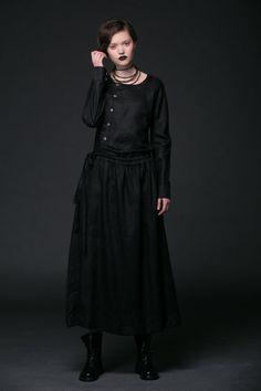 2015 New Black dress Lien dress by YL1dress on Etsy