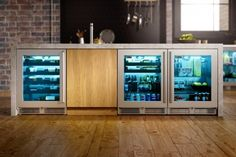Perlick's impressive product line – which includes the industry's widest selection of ADA-Compliant refrigeration – features the highest quality indoor and outdoor under counter refrigerators, beverage centers, wine reserves, freezers, freezer and refrigerated drawers, ice makers, and beer dispensers.