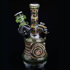 AMAZING collab by Cowboy Glass and Facet Mama Photo by Windhome Photography