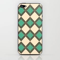 Geometric5 iPhone & iPod Skin by dua2por3 - $15.00