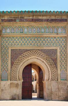 Moroccan architecture #Morocco #Travel