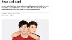 Petition · The Sunday Times: Have Josh Glancy release apology to Dan and Phil & fans · Change.org