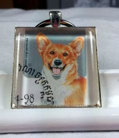 Corgi Queen Elizabeth England Puppies Dogs UK Waddle by PSPendants