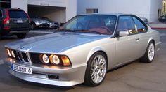 1988 BMW 635Csi | BMW | classic cars | classic BMW | silver BMW | car photos