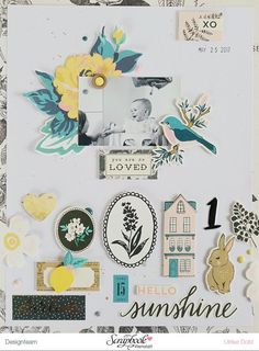 Scrapbook Werkstatt April Kit *Aprilliant* | think pink & mint | Bloglovin'