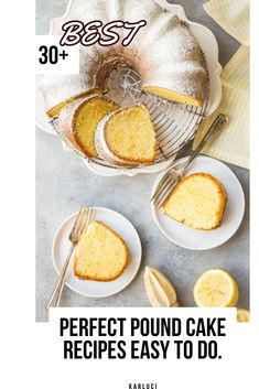 Southern classic dessert this holiday season. They're perfect. Enjoy these 430 Easy pound cake recipes… Classic Pound Cake Recipe Ahhhh….there's nothing better than a slice of warm pound ca… Perfect Pound Cake Recipe, Classic Pound Cake Recipe, Easy Pound Cake, Pound Cake Recipes, Easy Cake Recipes, Fudge Recipes, Cookie Recipes, Marble Pound Cakes, Marble Cake Recipes