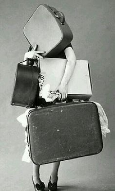 Baby, you've got a lot of baggage!
