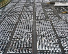 VM lot in Houston, Texas by Edward Burtynsky. Shortlisted for the 2010 Prix Pictect.