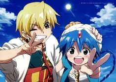 Shinobu Ohtaka, A-1 Pictures, MAGI: The Labyrinth of Magic, Aladdin (MAGI), Alibaba Saluja