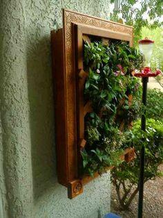 idée comment décorer avec un jardin suspendu