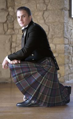 my wedding gift to my fiancee. The Balmoral Kilt, Traditional 8 Yard Kilt with Flashes by Scotweb Tartan Mill