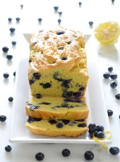 Keto Blueberry Lemon Bread