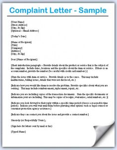 Follow up complaint letter letter template follows up with a complaint letters samples expocarfo Images