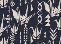 Paper crane blau