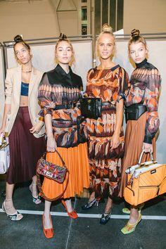 Fendi Ss 2019 Rtw Mfw Cool Street Fashion Style Jil Sander Designer