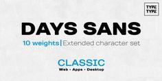 TT Days Sans font download