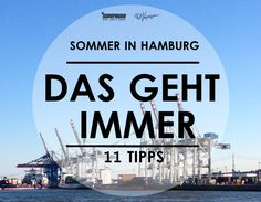 Summer in Hamburg 2014 - 11 pleasures that always go - It& summer in Hamburg. There is no longer any doubt of that. You can tell that from our daily - Time Travel, Us Travel, Places To Travel, Places To Visit, Cities In Germany, Germany Travel, Hostels, Hamburg Germany, City Break