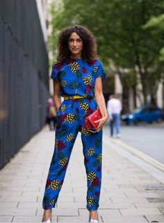 African prints.