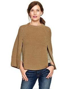 Sweater zip cape | Gap