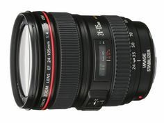 Canon EF 24-105mm f/4 L IS USM Lens for Canon EOS SLR Cameras. Shopswell | Shopping smarter together.™