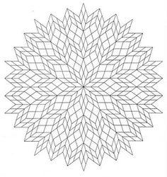 Mandalas Para Pintar: mandala para colorear de armonia