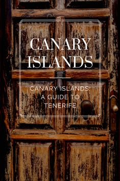 The Canary Islands have been a destination I've dreamed many nights about visiting. The variety of luxury and natural beauty makes this destination one of a kind. From North to South, you can experience all of the seasons in one day. Check out the ultimate guide to the Canary Islands on the blog.