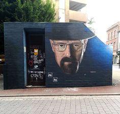 #streetart #manchester #breakingbad #heisenberg