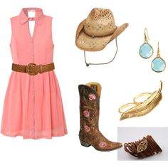 Lets go to a summer country concert!, created by maddie-minnesota on Polyvore