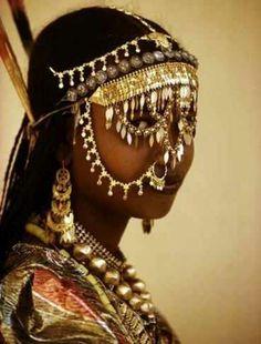 African Muslim bride