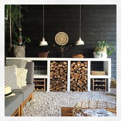 Irene and Rob Burg have shared this beautiful Dutch house for 19 years. Decor, Garden Room, Outdoor Decor, Dutch House, Garden Design, Garden Inspiration, Backyard Kitchen, Outdoor Wood, Outdoor Inspirations