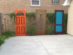 Summer 2014....doors that open imagination & dreams & keep the basketballs out of the neighbors yard