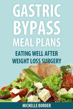 Gastric Bypass Meal Plans:Amazon:Kindle Store
