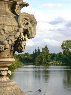 The Italian Gardens in Kensington Gardens