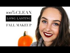 it must be Autumn! In this video, makeup artist Jessica Copp of Speyeral Beauty recreates a green . Fall Lips, Fall Makeup Looks, Long Lasting Makeup, Brow Pomade, Lip Colour, Organic Makeup, Healthy Skin Care, Vegan Beauty, Healing
