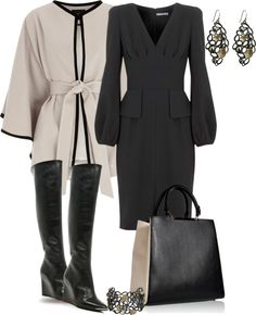 """Dressing Up Wedge Boots"" by yasminasdream ❤ liked on Polyvore"