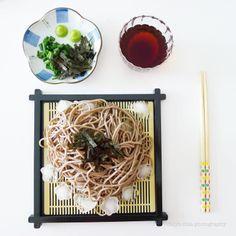 Zaru Soba (Cold White Buckwheat Noodles)