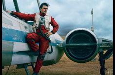 Behind the Scenes Photographs of Star Wars: The Force Awakens in Vanity Fair