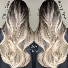 Ombré/Balayage/Rooty looks/color melts. Balayage Hair Purple, Balayage Ombré, Ombre Hair, Ombre Rose Gold, Guy Tang, Gorgeous Hair, Beautiful, Dream Hair, Hair Videos