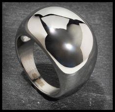 Bijou Brigitte  Ring - Steel Silver