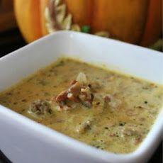 Low Carb Pumpkin Sausage Soup Recipe