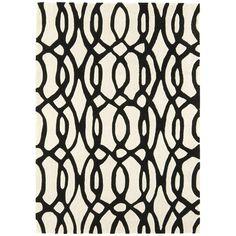 Matrix Wire Rug Black Matrix, Carpet Stairs, Patterned Carpet, Black Rug, Carpet Design, Round Rugs, Grey Rugs, White Rugs, Carpet Runner