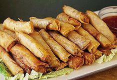 Spring Rolls, Sushi, Sausage, Bakery, Food And Drink, Cooking Recipes, Snacks, Vegan, Vegetables