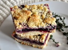 Cookie Monster: Concord Grape-Thyme Bars - the taste of fall in sonoma wine country