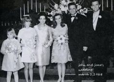 June Carter marries Johnny Cash in Franklin, KY on March [Courtesy of Carlene Carter] June And Johnny Cash, June Carter Cash, Celebrity Couples, Celebrity Weddings, Country Singers, Country Music, Walk The Line Movie, Carlene Carter, John Cash
